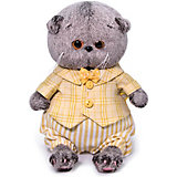 Мягкая игрушка Budi Basa Кот Басик Baby в костюмчике, 20 см