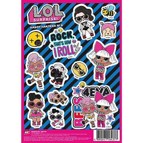 Комплект наклеек L.O.L. №3 от ND Play