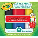 Акриловая краска Crayola
