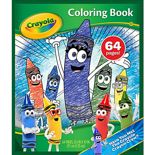 Книжка-раскраска Coloring Book от Crayola