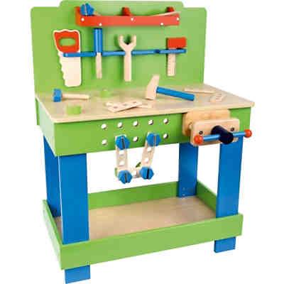 Werkbank mit 45-tlg. Zubehör + 5 Werkzeugen, howa | myToys