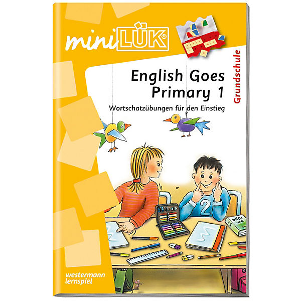 mini LÜK: English Goes Primary 1, Übungsheft