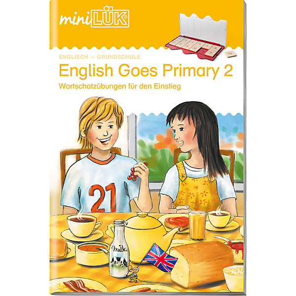 mini LÜK: English Goes Primary 2, Übungsheft