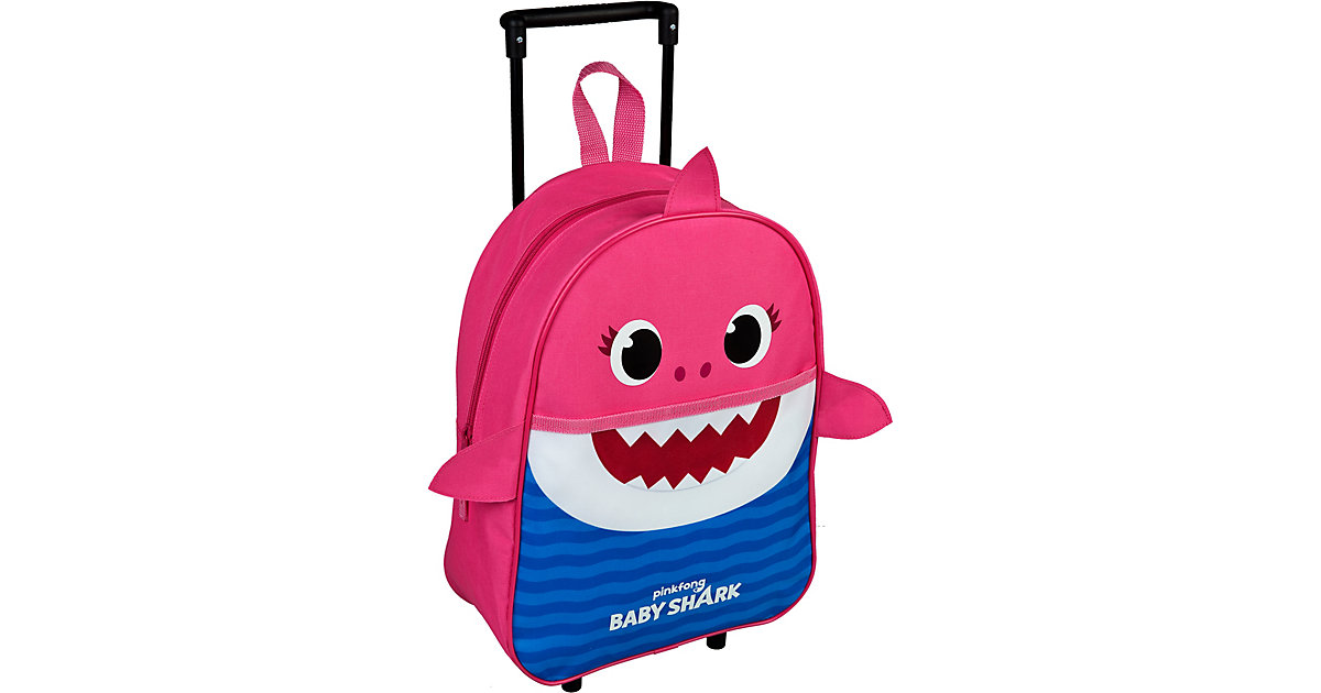 Trolley Baby Shark Mummy rosa