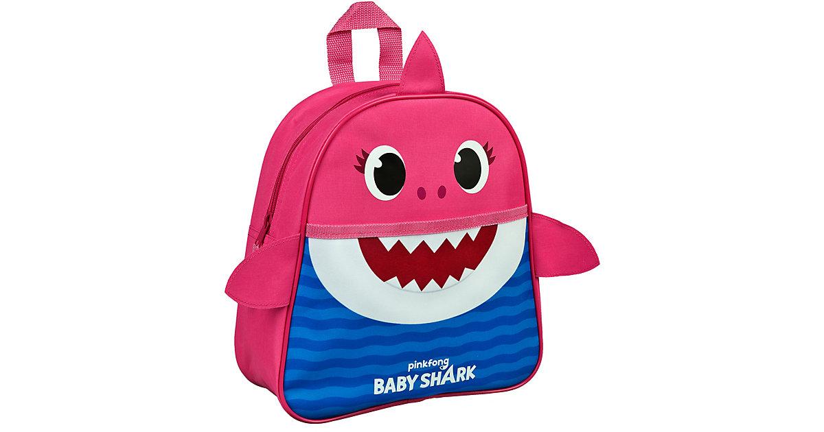 Kinderrucksack Baby Shark Mummy rosa