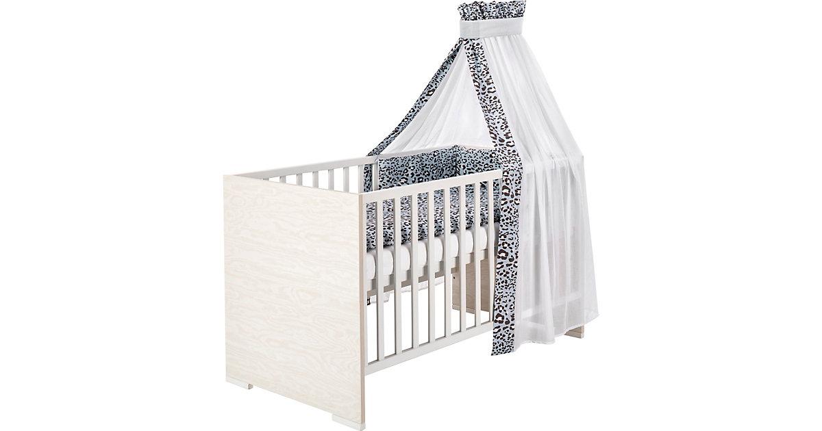 Kombi-Kinderbett Capri White, 70x140 cm weiß