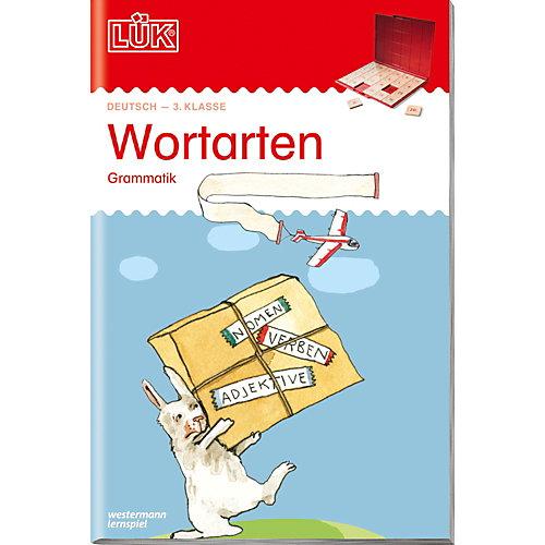 Westermann Verlag LÜK: Wortarten, Grammatik ab Klasse 3, Übungsheft