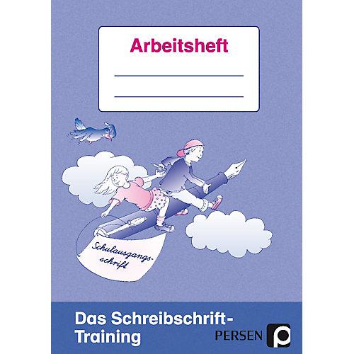 Persen Verlag Das Schreibschrift-Training: Schulausgangsschrift, Arbeitsheft