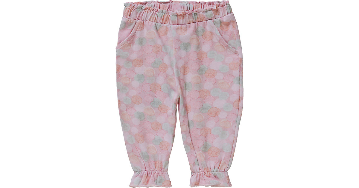 Baby Stoffhose NBFJOSEFINE , Organic Cotton mehrfarbig Gr. 68 Mädchen Baby