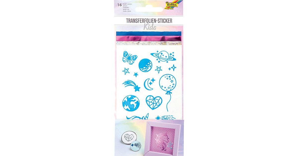Transferfolie-Sticker KIDS, 16 Stk. inkl. 3x Transferfolie sortiert bunt