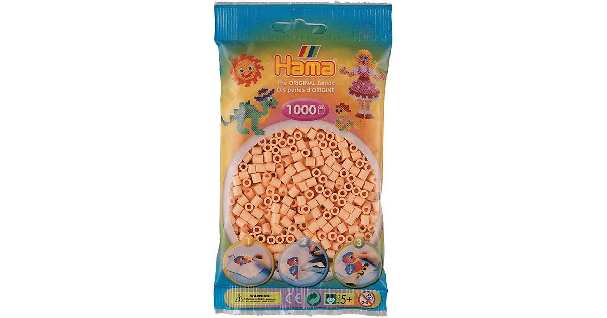 HAMA 207-78 Beutel midi-Perlen, 1.000 Stück, Helle Hautfarbe