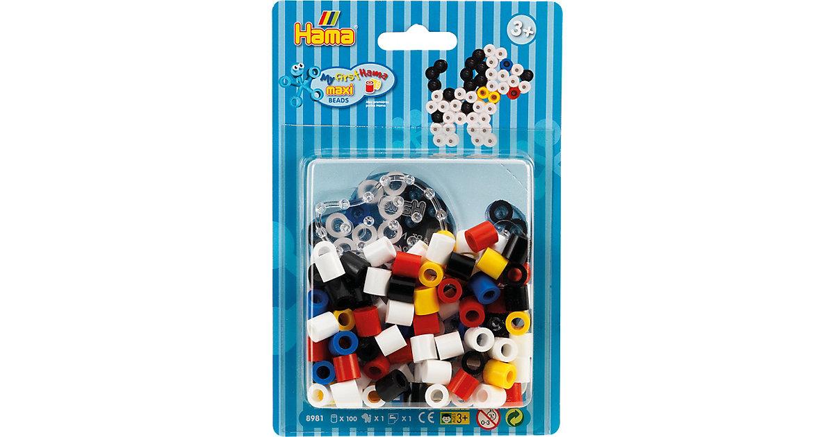 HAMA 8981 Blister Hund, 100 maxi-Perlen & Zubehör