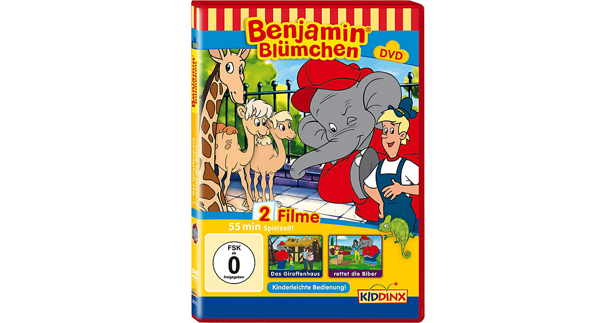 DVD Benjamin Blümchen (Giraffenhaus / Rettet di...