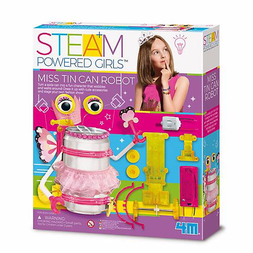Набор для конструирования 4M Steam Powered Kids Мисс Банкабот от 4M