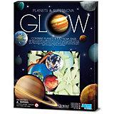 Набор для творчества 4M Светящиеся планеты и сверхновые звёзды