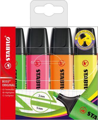 Набор маркеров BOSS 4 цв.