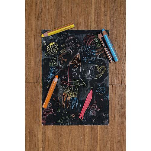 Набор цветных карандашей Stabilo Woody,6цв+точилка, картон от STABILO