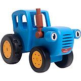 Игрушка деревянная BochArt Синий Трактор