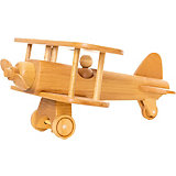 Игрушка деревянная BochArt Самолет