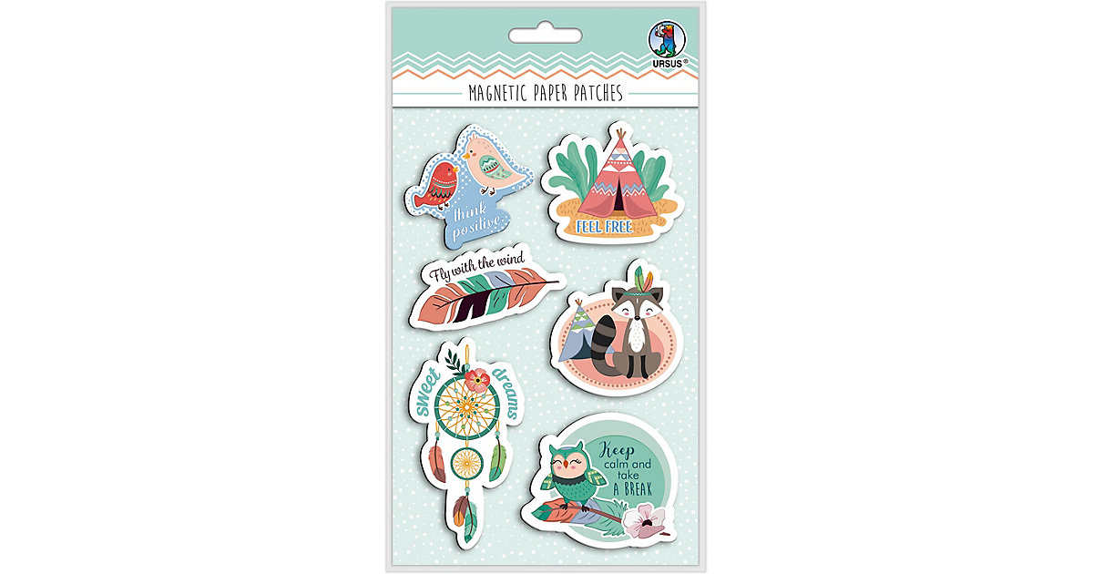 "Magnetic Paper Patches ""Dream"" Mot:01 pastell"