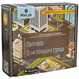 """Конструктор Pinlab """"Светофор. Огни большого города"""""""