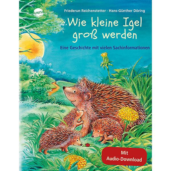 Wie Kleine Igel Groß Werden M Audio Cd Friederun Reichenstetter Hans Günther Döring