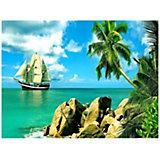 Картина по номерам Molly Сейшельские острова