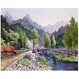 """Картина по номерам Molly Сунг Ли """"Весна в горах"""""""