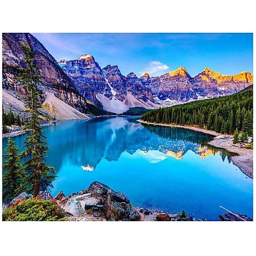 Картина по номерам Molly Озеро в Канаде от Molly