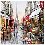 Картина по номерам Molly Прогулки по Парижу