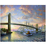 Картина по номерам Molly Рассвет над Нью-Йорком