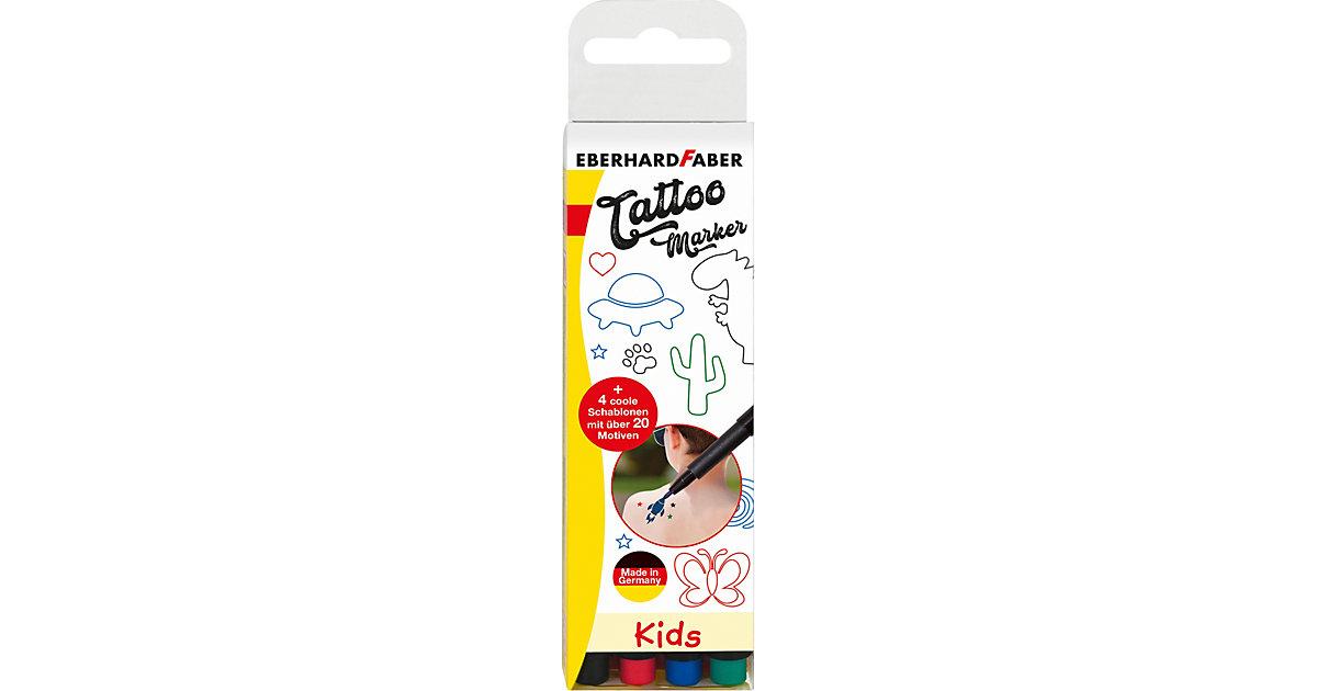 Tattoo Marker Kids, 4 Farben