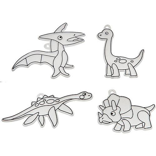 "Набор для творчества Bondibon ""Витражи"" Динозавры, 4 шт от Bondibon"