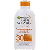 Солнцезащитное молочко для лица и тела Garnier Ambre Solaire SPF 30, 200 мл