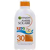 Солнцезащитное молочко Garnier Ambre Solaire Kids для детей увлажняющее, SPF 30