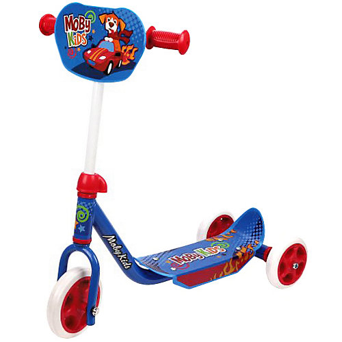 "Трёхколёсный самокат Moby Kids ""Мечта"", 150/120 мм от Moby Kids"