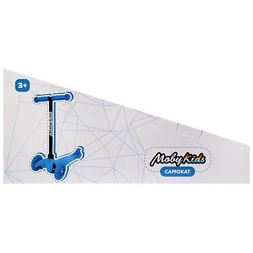 Трёхколёсный самокат Moby Kids Basic 1, 120 мм от Moby Kids