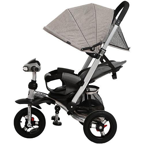 Трёхколёсный велосипед-коляска Moby Kids Stroller trike Air Car, 10x10 от Moby Kids