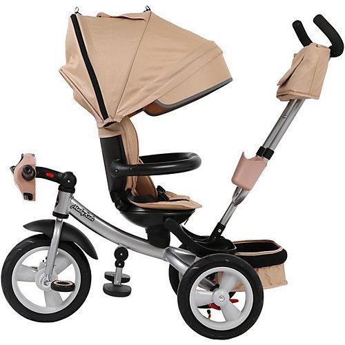 Трёхколёсный велосипед Moby Kids New 360° Air Car, 12x10 от Moby Kids
