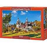Пазл Castorland Замок Пелеш, Румыния, 500 деталей