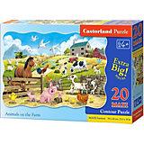 Пазл Castorland Животные на ферме, 20 деталей