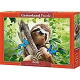 Пазл Castorland Счастливый ленивец, 500 деталей