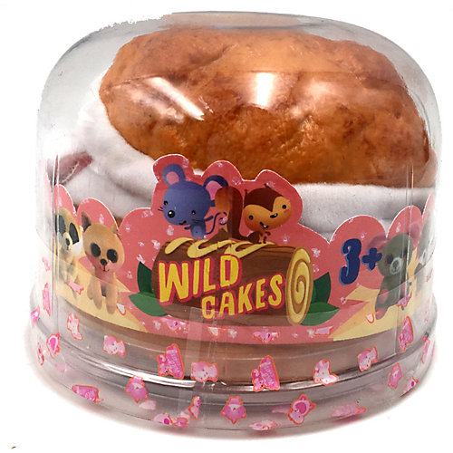 Игрушка-вывернушка Sweet Pups Wild cakes Розовая мышь от Premium Toys