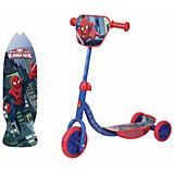 Трёхколёсный самокат 1Toy Marvel Человек-Паук