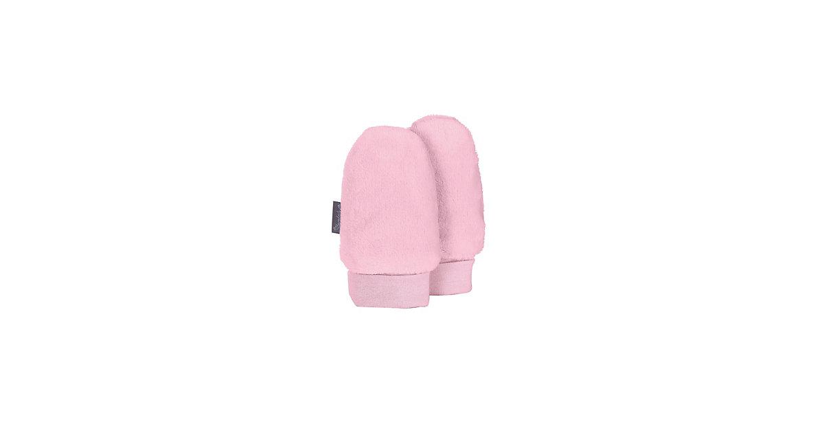 Handschuhe Baby Fäustel Fausthandschuhe rosa Gr. 2 Jungen Kleinkinder