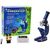 Микроскоп с тремя объективами и подсветкой Tongde