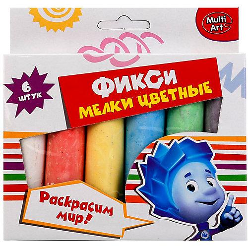 """Мелки цветные Multiart """"Фиксики"""", 6 цветов от Multiart"""