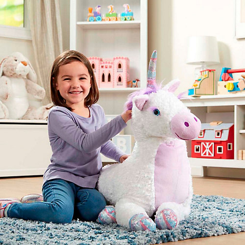 """Мягкая игрушка Melissa & Doug """"Единорог"""", 106 см от Melissa & Doug"""