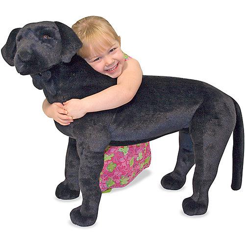 """Мягкая игрушка Melissa & Doug """"Черный лабрадор"""", 61см от Melissa & Doug"""