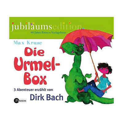 Die Urmel-Box, Jubiläumsedition, 6 Audio-CDs